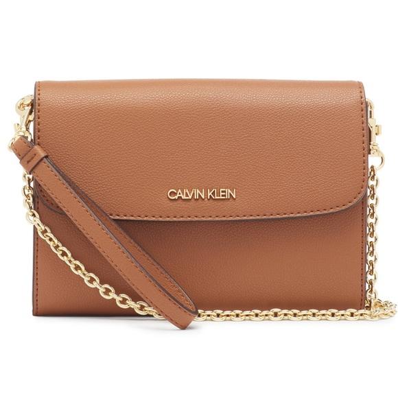 NWT Calvin Klein Wallet Convertible Crossbody